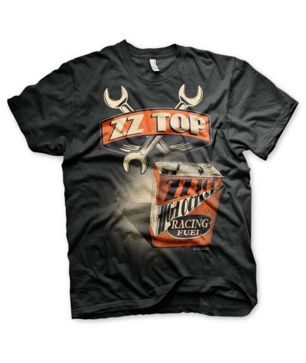 Camiseta ZZ TOP - High Octane Racing Fuel