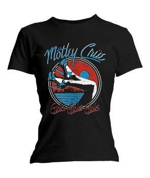 d9c2a3f8f1 Camiseta para chica MOTLEY CRUE - Heels Girls Girls Girls