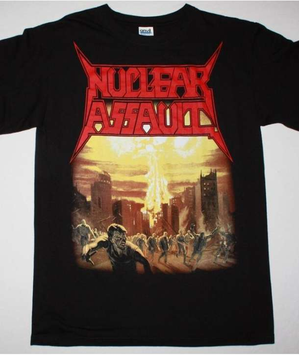 Camiseta NUCLEAR ASSAULT - Game Over