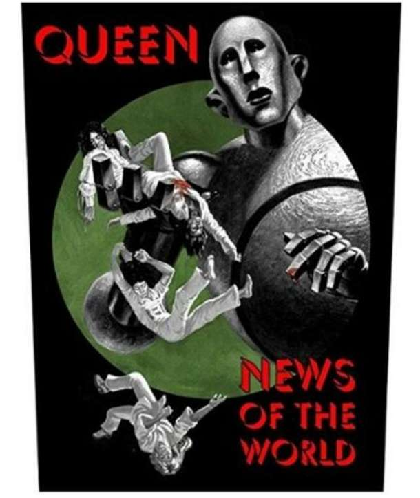 Parche para espalda QUEEN - News Of The World