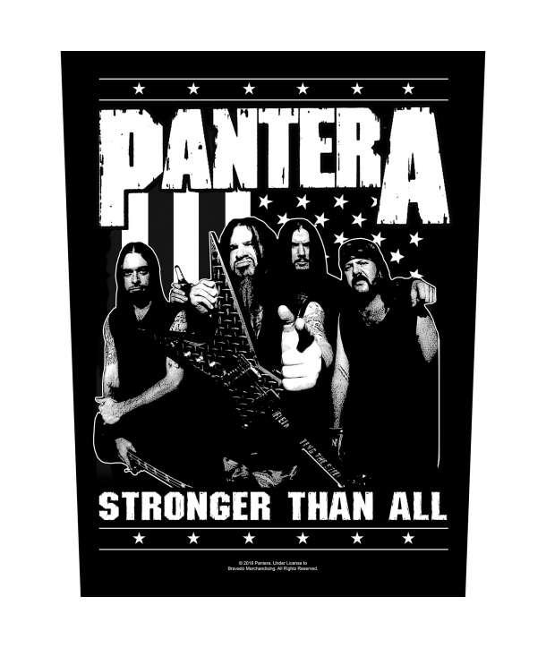 Parche para espalda PANTERA - Stronger Than All Band