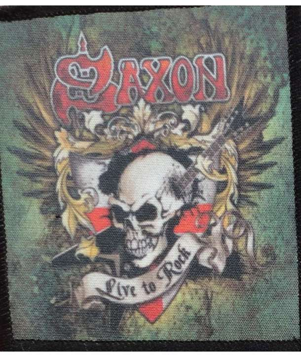 Parche SAXON - Live To Rock