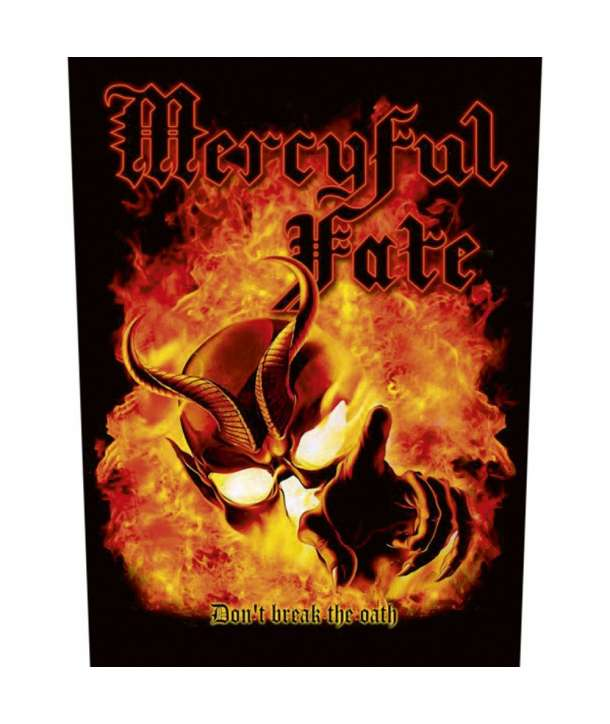 Parche para espalda MERCYFUL FATE - Don`t Break The Oath