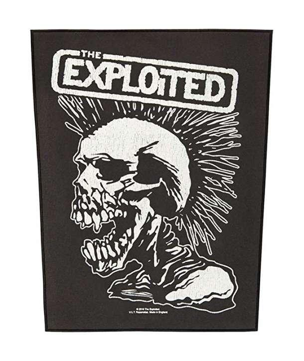 Parche para espalda THE EXPLOITED - Vintage Skull