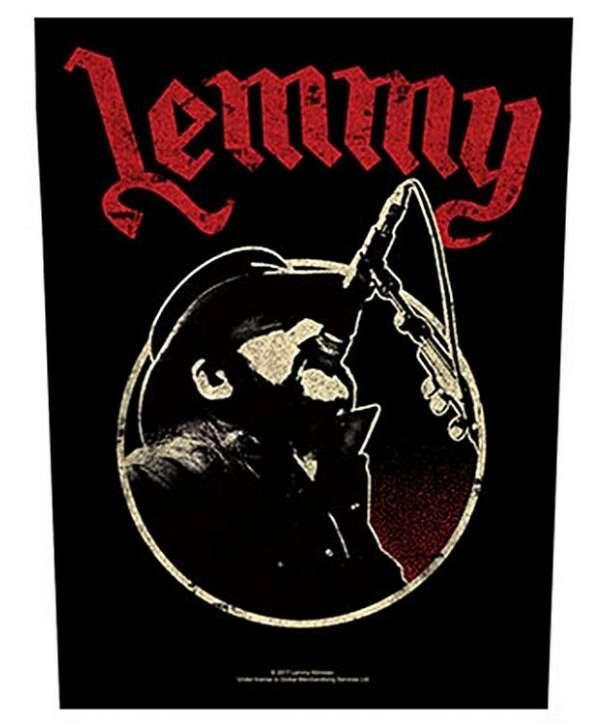 Parche para espalda LEMMY - Microphone