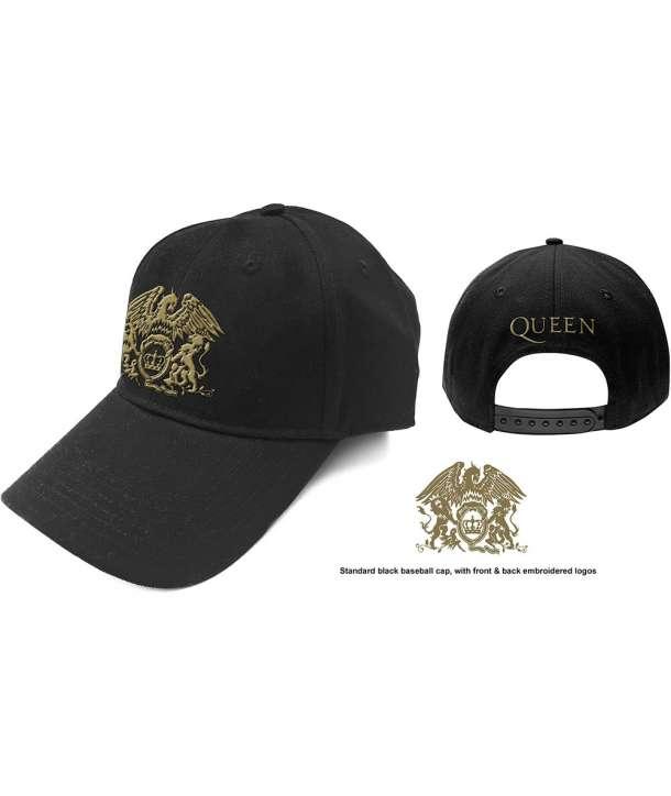 Gorra QUEEN - Logo Dorado