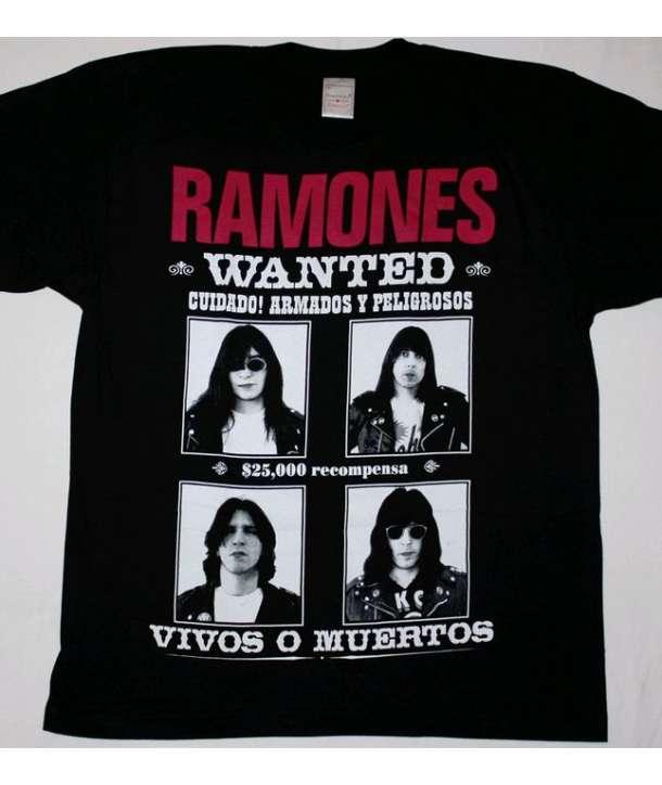 Camiseta RAMONES - Wanted
