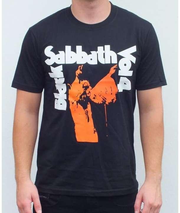 Camiseta BLACK SABBATH - Vol. 4