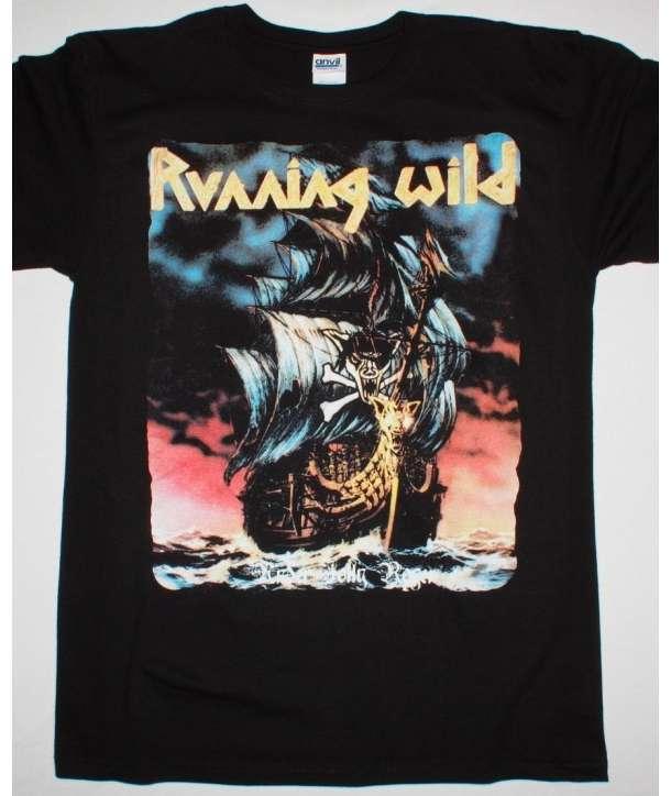 Camiseta RUNNING WILD - Under Jolly Roger