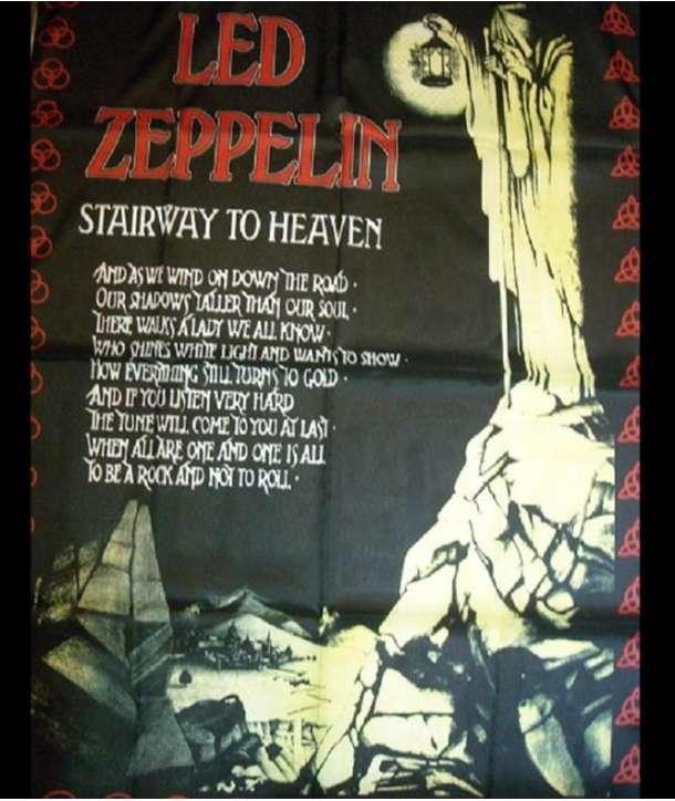 Bandera LED ZEPPELIN - Stairway to Heaven