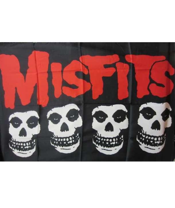 Bandera MISFITS - Skulls