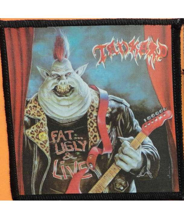 Parche TANKARD - Fat Ugly Live