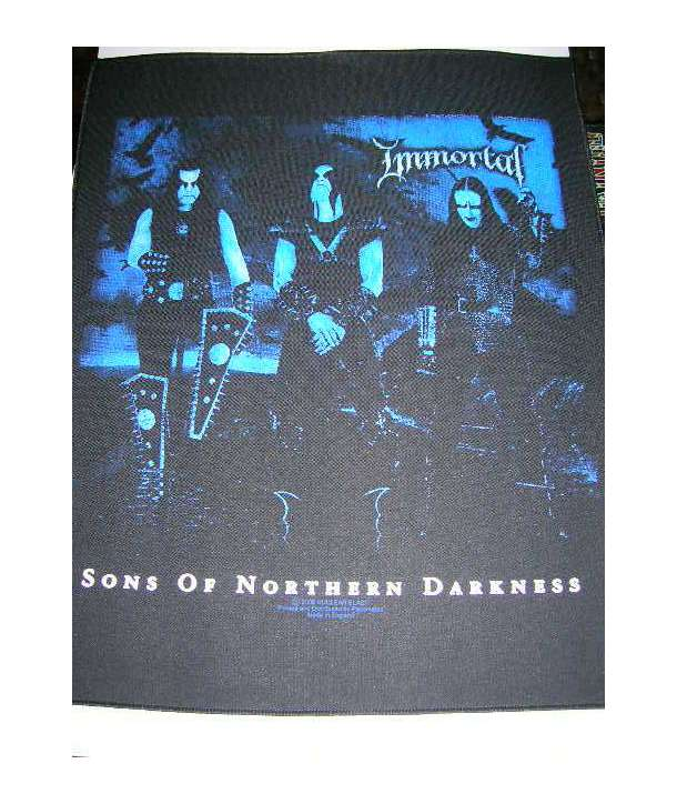 Parche para espalda IMMORTAL - Sons Of Northern Darkness