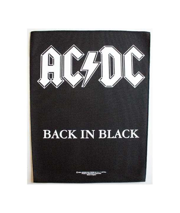 Parche para espalda ACDC - Back In Black