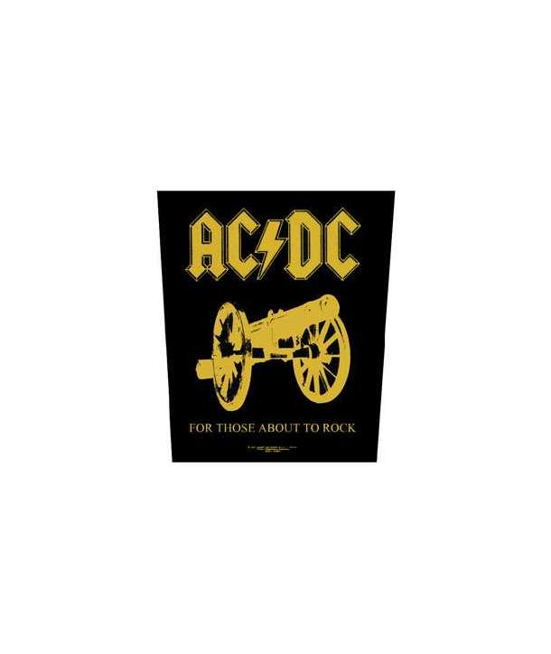 Parche para espalda ACDC - For Those About To Rock