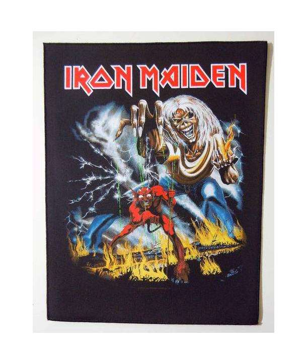 Parche para espalda IRON MAIDEN - Number Of The Beast