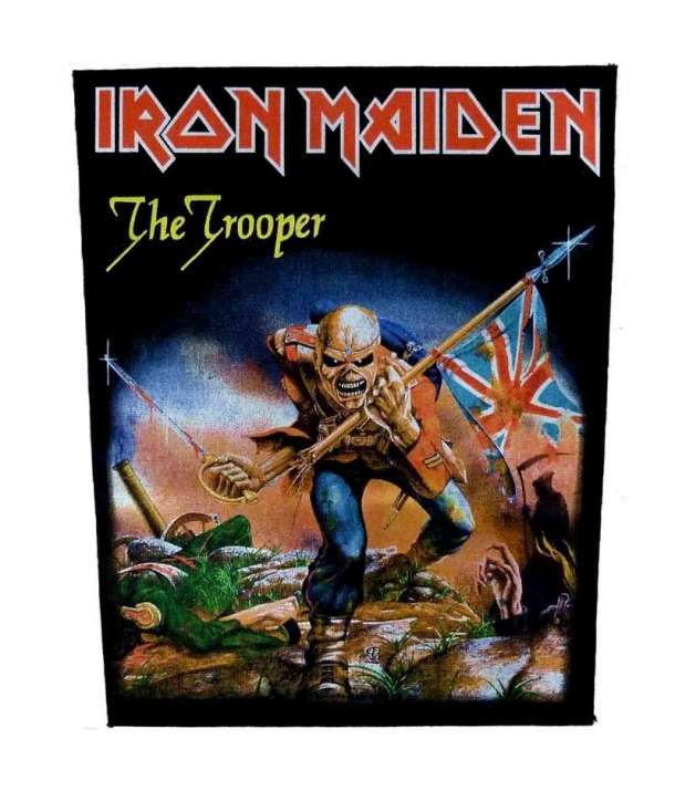 Parche para espalda IRON MAIDEN - The Trooper