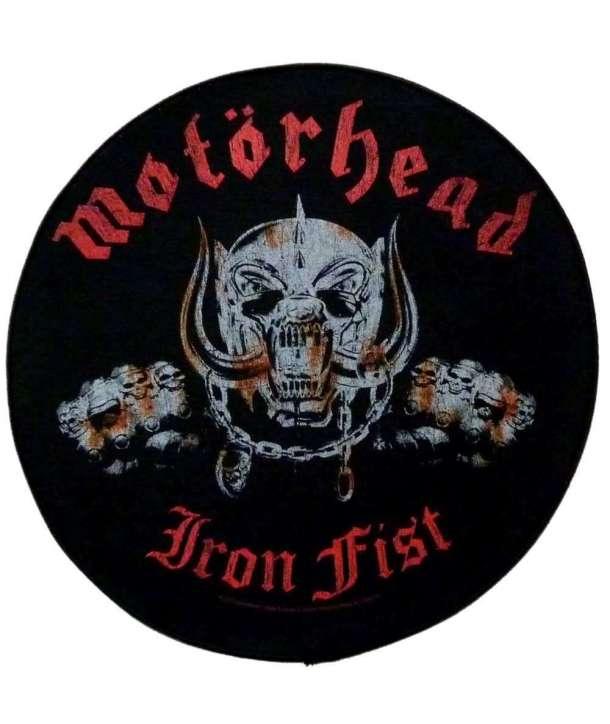 Parche para espalda MOTORHEAD - Iron Fist