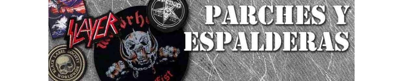 PARCHES Y ESPALDERAS